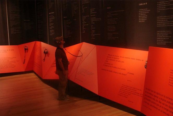"""Exposición """"ésto y el relámpago, vida y obra del poeta gonzalo rojas"""" (1)"""