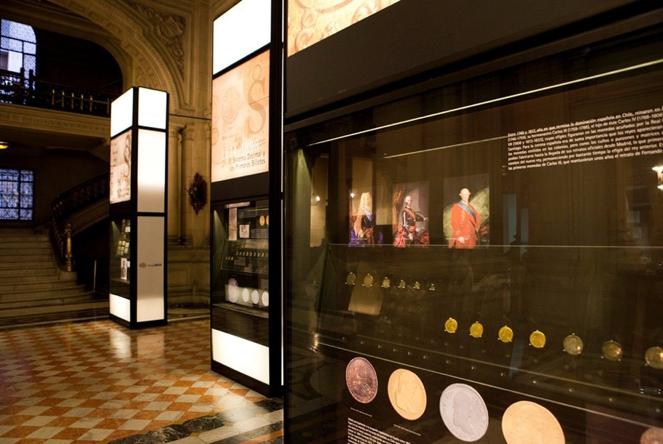 """Exposición """"arte de monedas y billetes"""" (2)"""