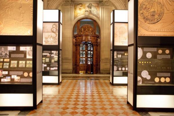 """Exposición """"arte de monedas y billetes"""" (1)"""
