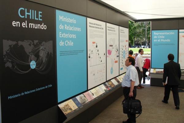 """Pabellón """"Chile en el mundo"""" (1)"""